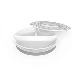 Twistshake Divide Plate white